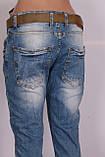 Женские турецкие джинсы бойфренды  Red Sold , фото 7