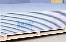 Гипсокартон Кнауф (Knauf) Потолок толщина 9,5 мм, 1,2х2,5 м
