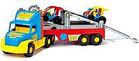 Эвакуатор-гигант  Super Truck Wader 36630, (110х27х18 см) с двумя машинками