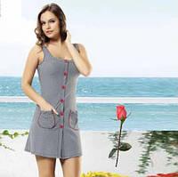 Трикотажное платье   для дома и отдыха Т 2360