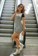 Стильное летнее платье н-40347