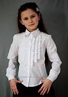 Блузка для девочек в школу