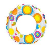 """Надувной круг INTEX 59241 """"Яркие круги"""" (61 см), фото 1"""