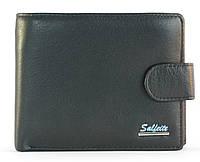 Кошелек мужской кожаный с большим количеством отделений SALFEITE art. 2124 черный, гладкая кожа, фото 1