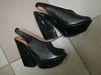 Стильные черные босоножки 37р.