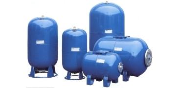 Гидробак для водоснабжения Италия ELBI AFH-100 литров,горизонтал.