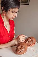 """Набор на мастер-класс по скульптуре.  """"Принцип лепки возрастных и эмоциональных изменений лица"""""""