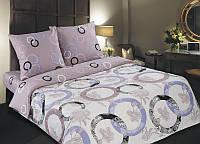 Семейный комплект постельного белья, поплин Мелодия (хлопок 100%)