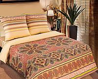Полуторный комплект постельного белья, поплин Караван (хлопок 100%)