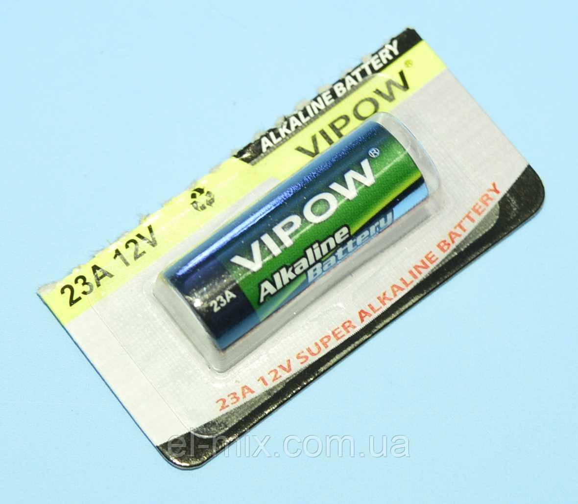 "Батарейка LR23A 12В alkaline ""Vipow""  BAT0065B  распродажа (дата до 02,2019)"
