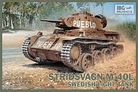 Танк STRIDSVAGN M/40L 1/72 IBG 72036