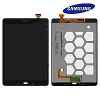 """Дисплейный модуль (дисплей + сенсор) для Samsung Galaxy Tab A 9.7"""" T550/T555, оригинальный (черный)"""
