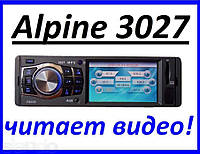 Alpine 3027 Video экран LCD ; USB+SD