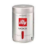 Кофе illy moka молотый средней обжарки ж/б 250 гр