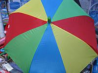 Зонт-трость детский цветной