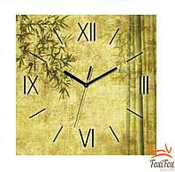 "Декоративные часы на стену ""Бамбук"""