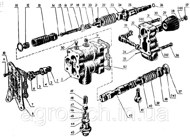 Гидроувеличитель зчіпного ваги ГСВ ( МТЗ), фото 2