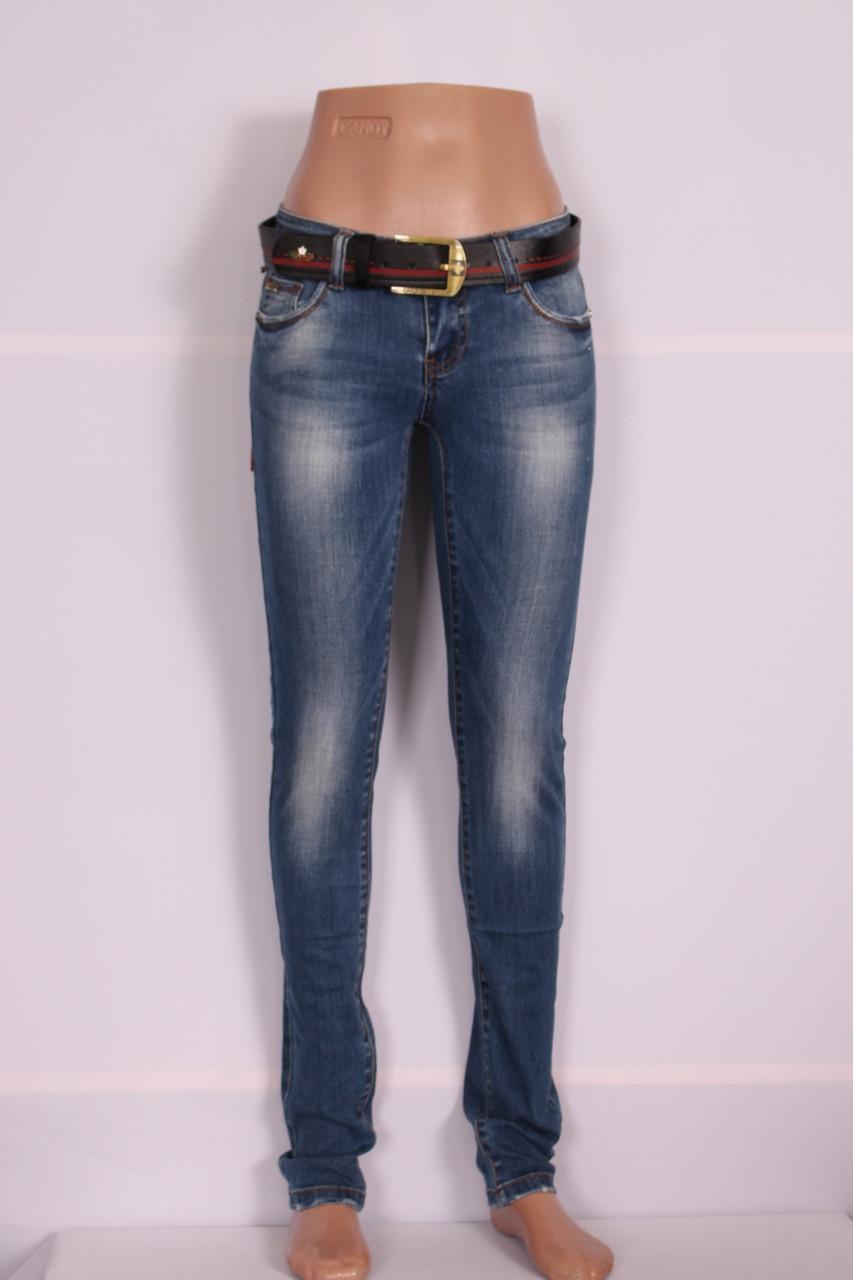 Женские молодежные джинсы D.Marks (Код: 77329)