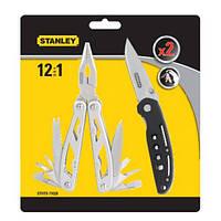 """Плоскогубцы комбинированные, 12 в 1 + нож """"STANLEY"""""""