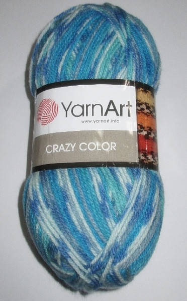 Пряжа YarnArt, Crazy Color
