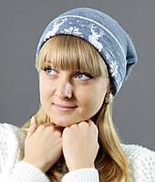 Качественная молодежная шапка на зиму