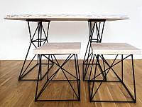 """Комплект мебели для кухни стиля """"Лофт"""" Украинская мебель ручной работы"""