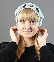 Зимняя шерстяная шапка