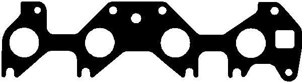 Прокладка впускного коллектора к головке блока цилиндров (ГБЦ) Z16SE OPEL ASTRA-G COMBO CORSA-C MERIVA-A