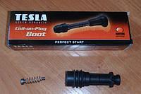 АНАЛОГ для Opel 9012166  GM  Ремкомплект (свечной наконечник, пружинка) модуля (катушки) зажигания TESLA CP063 для 1208020 1208012 24420584 90560110