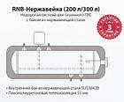 Термосифонная гелиосистема АТМОСФЕРА RNВ-нержавейка, 250л, фото 3