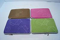 Чехлы для планшетов диагональ .7 Цветные из ткани на змейке в ассортименте, аксессуары для техники, гаджеты