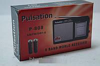 Радиоприемник Pulsation p 808, аксессуары для техники, гаджеты, аккумулятор, радиоприемник