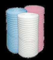Полотно ппэ 3 мм х 1м х 50м  розовое Теплоизол подкладка под ламинант, теплый пол, паркет, линолеум, стяжку, гипсокартон