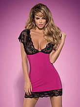 Комплект Obsessive IMPERIA  рубашка и стринги   размеры: S/M, L/XL.