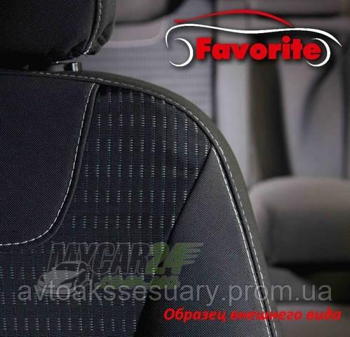 Favorite Авточехлы на сиденья FIAT Doblo Combi 2005 - интернет магазин VSE-V-AVTО в Харькове