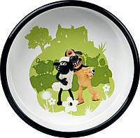 Trixie  TX-25044 миска для собак  Барашек Шон 0,8 л