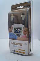 HDMI кабель 1.8м для ТВ и видео электроники с золотым напылением, аксессуары для ПК, гаджеты, аудиотехника