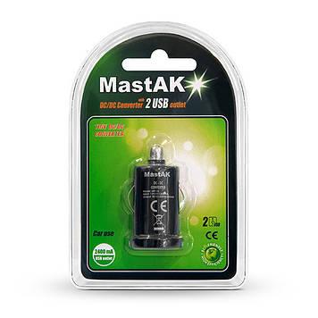 Зарядное устройство MastAK MF-14 (USB 5v 2,1A)