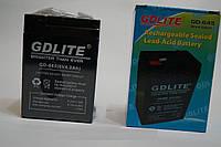 Аккумулятор АКБ GD-LITE GD-645 6v 40AH, комплектующее, свинцово-кислотный аккумулятор