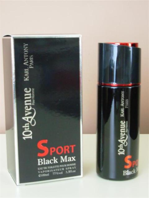 Туалетная вода 10th Avenue Black Max Sport Pour Homme edt 100ml