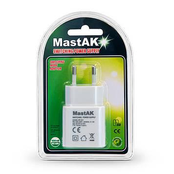 Зарядное устройство MastAK MF-221 (USB 5v 1A)
