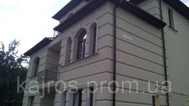фаадна ліпнина, фасадний декор, карнизи, термопанелі, панелі, панели, підвіконники, подоконники, цоколь, обрамлення вікон, арки на фасад, арки на окна, арки на вікна
