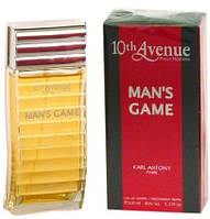 Туалетная вода 10th Avenue Mans Game Pour Homme edt 100ml, фото 1