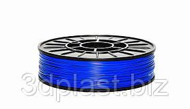 Нитка ABS (АБС) пластик для 3D принтера, 1.75 мм, синій