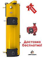 Котел сверх длительного горения на угле и дровах Stropuva S10U Универсальный