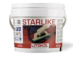 Затирка эпоксидная Litokol Starlike(литокол старлайк)С.470-1кг для швов плитки, мозаики(classic)