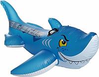 Плотик детский в виде Акулы 104х107 см от 3 х лет