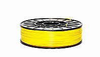 Нить ABS (АБС) пластик для 3D принтера, 1.75 мм, 0,75 кг. желтый, фото 1