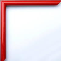Фоторамка 10х15 багет 14 мм красная