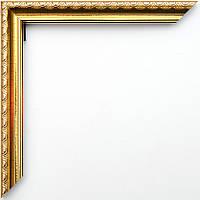 Фоторамка 10х15 багет 17 мм золотая